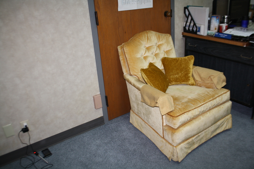 Here's another image of the chair. We looked and looked for the right chair and were glad we finally found one.