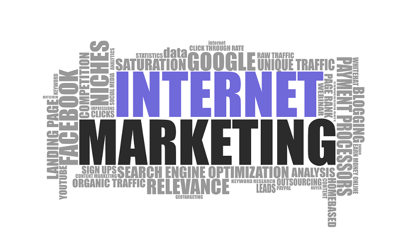 Picture of Internet Marketing Word Cloud